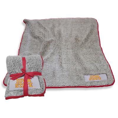 IA State Cyclones Frosty Fleece Blanket | Logo Chair | 156-25F-1