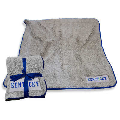Kentucky Wildcats Frosty Fleece Blanket | Logo Chair | 159-25F-1
