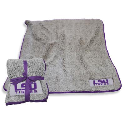 LSU Tigers Frosty Fleece Blanket | Logo Chair | 162-25F-1