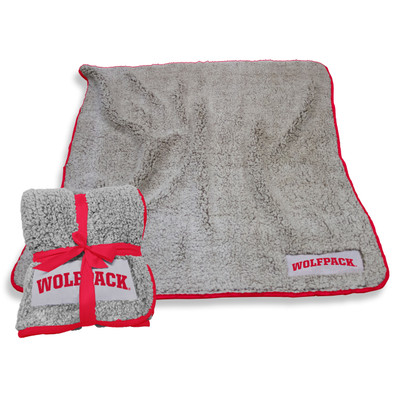 NC State Wolfpack Frosty Fleece Blanket | Logo Chair | 186-25F-1