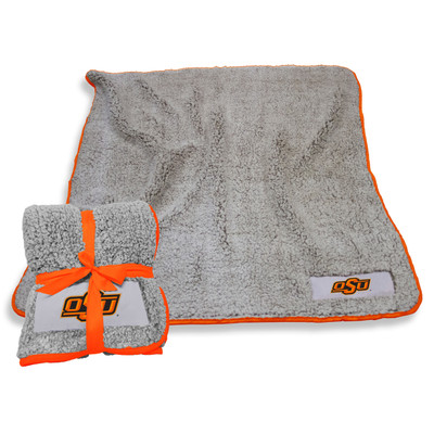 Oklahoma State Cowboys Frosty Fleece Blanket | Logo Chair | 193-25F-1