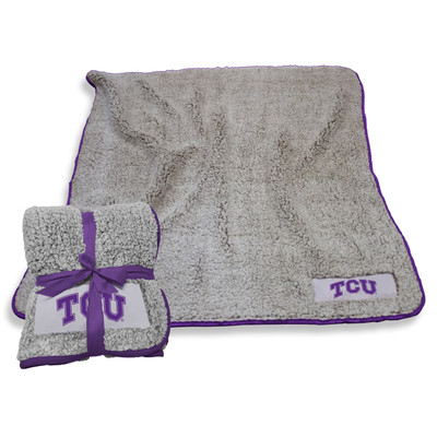 TCU Horned Frogs Frosty Fleece Blanket | Logo Chair | 215-25F-1
