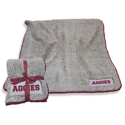 Texas A&M Aggies Frosty Fleece Blanket | Logo Chair | 219-25F-1