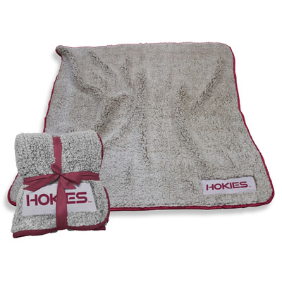 Virginia Tech Hokies Frosty Fleece Blanket | Logo Chair | 235-25F-1