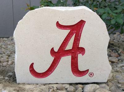 Alabama Crimson Tide Engraved Decorative Porch Stone | Stoneworx | alabama6