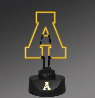 Appalachian State Mountaineers Neon Desk Lamp | Memory Company |MEM-APP-1808