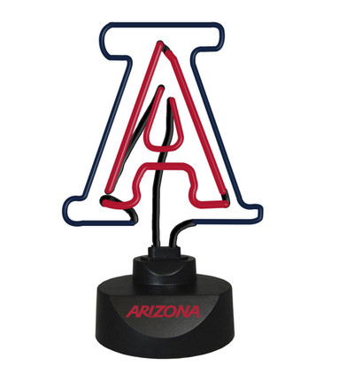 Arizona Wildcats Neon Desk Lamp | Memory Company | MEM-ARZ-1808