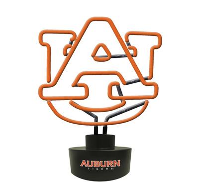 Auburn Tigers Neon Desk Lamp | Memory Company | MEM-AU-1808