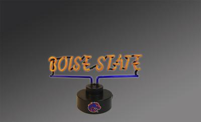 Boise State Neon Desk Lamp | Memory Company | MEM-BOS-1808