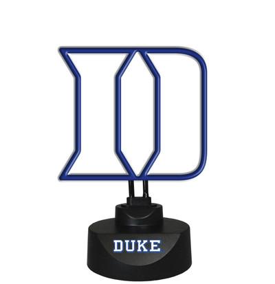 Duke Blue Devils Neon Desk Lamp | Memory Company | MEM-DUK-1808