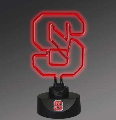 NC State Wolfpack Neon Desk Lamp | Memory Company | MEM-NCS-1808