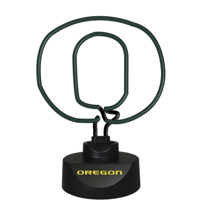 Oregon Ducks Neon Desk Lamp | Memory Company | MEM-ORE-1808