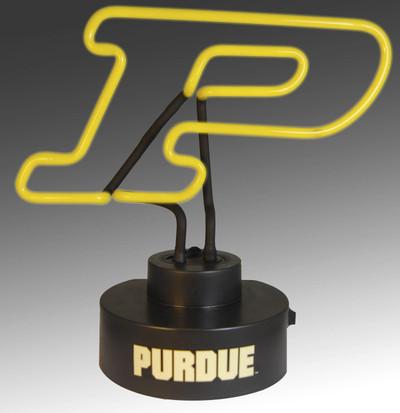 Purdue Boilermakers Neon Desk Lamp | Memory Company | MEM-PUR-1808