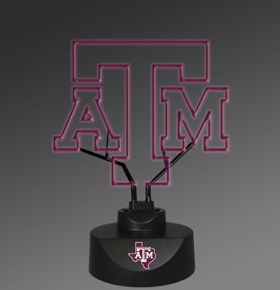 Texas A&M Aggies Neon Desk Lamp | Memory Company | MEM-TAM-1808