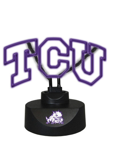 TCU Horned Frogs Neon Desk Lamp | Memory Company | MEM-TCU-1808