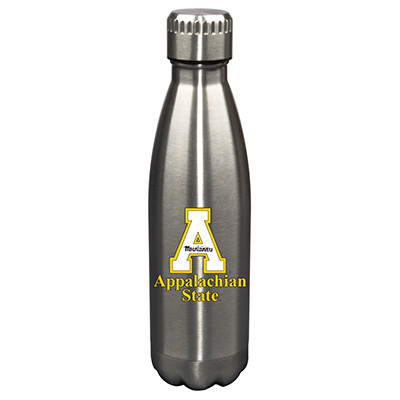 Appalachian State 17oz Stainless Steel Water Bottle | Memory Company | MEM-APP-710101