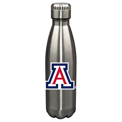 Arizona Wildcats 17oz Stainless Steel Water Bottle | Memory Company | MEM-ARZ-710101