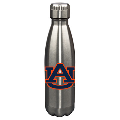 Auburn Tigers 17oz Stainless Steel Water Bottle | Memory Company | MEM-AU-710101