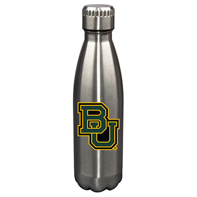 Baylor Bears 17oz Stainless Steel Water Bottle | Memory Company | MEM-BAY-710101