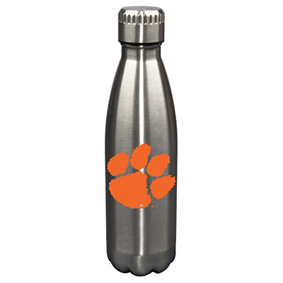 Clemson Tigers 17oz Stainless Steel Water Bottle | Memory Company | MEM-CLM-710101