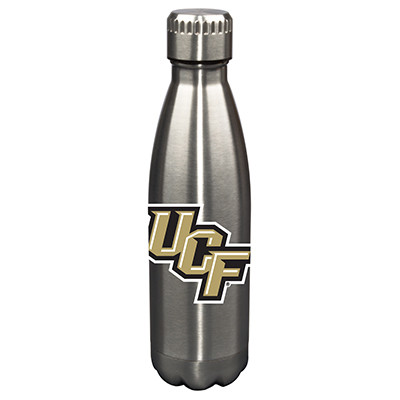 UCF Knights 17oz Stainless Steel Water Bottle | Memory Company | MEM-CNF-710101