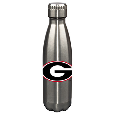 Georgia Bulldogs 17oz Stainless Steel Water Bottle | Memory Company | MEM-GA-710101