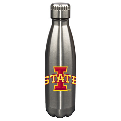 Iowa State Cyclones 17oz Stainless Steel Water Bottle| Memory Company | MEM-IWS-710101
