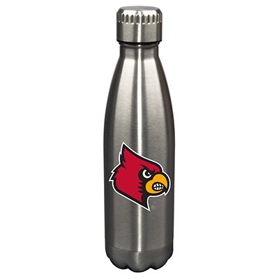 Louisville Cardinals 17oz Stainless Steel Water Bottle | Memory Company | MEM-LOU-710101
