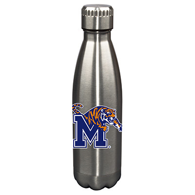 Memphis Tigers 17oz Stainless Steel Water Bottle | Memory Company | MEM-MEM-710101