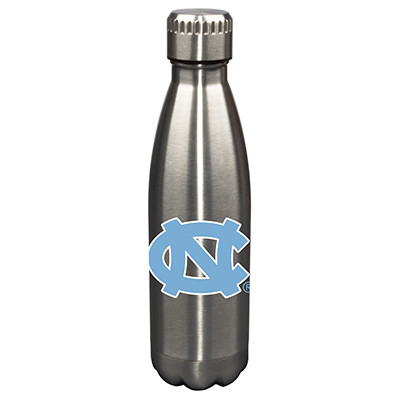 UNC Tar Heels 17oz Stainless Steel Water Bottle | Memory Company | MEM-NC-710101