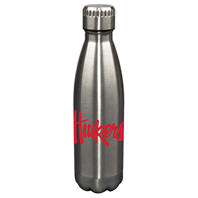 Nebraska Huskers17oz Stainless Steel Water Bottle | Memory Company | MEM-NEB-710101