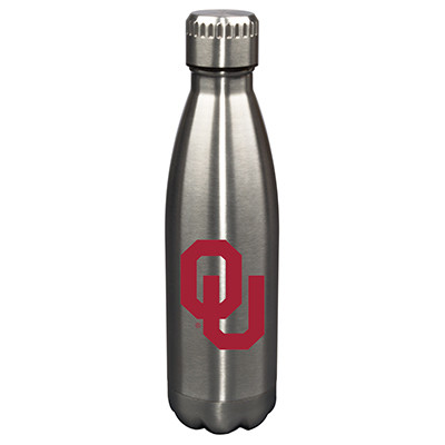 Oklahoma Sooners 17oz Stainless Steel Water Bottle | Memory Company | MEM-OK-710101