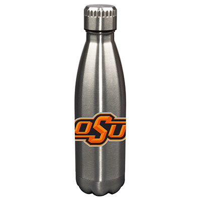 Oklahoma State Cowboys 17oz Stainless Steel Water Bottle | Memory Company | MEM-OKS-710101