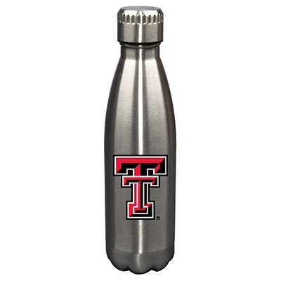 Texas Tech Raiders 17oz Stainless Steel Water Bottle | Memory Company | MEM-TXT-710101