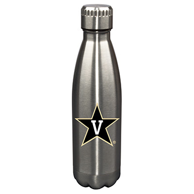 Vanderbilt Commodores 17oz Stainless Steel Water Bottle | Memory Company | MEM-VAN-710101