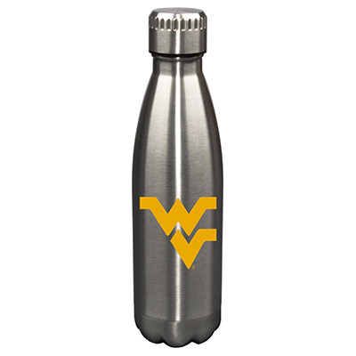West Virginia Mountaineers17oz Stainless Steel Water Bottle | Memory Company | MEM-WVI-710101