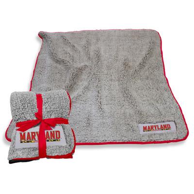 Maryland Terrapins Frosty Fleece Blanket | Logo Chair | 167-25F-1