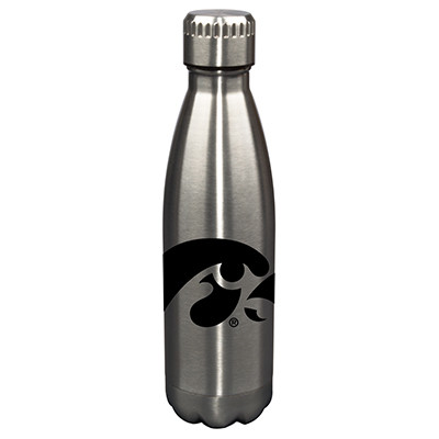 Iowa Hawkeyes 17oz Stainless Steel Water Bottle | Memory Company | MEM-IOW-710101