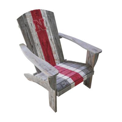 Nebraska Huskers Wooden Adirondack Chair   Imperial International   711-7010