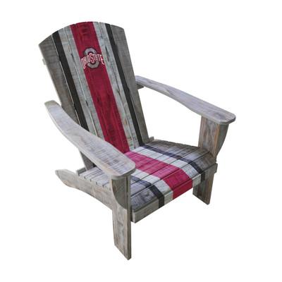 Ohio State Buckeyes  Wooden Adirondack Chair | Imperial International | 711-7015