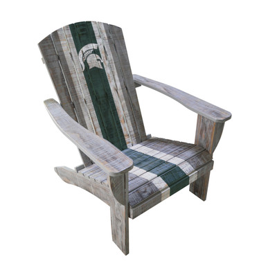Michigan State Spartans Wooden Adirondack Chair | Imperial International | 711-7016