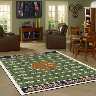 Clemson Tigers Football Field Rug | Milliken | MIL4000054619