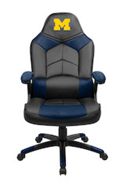 Michigan Wolverines Oversize Gaming Chair | Imperial | 334-3009