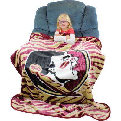 FSU Seminoles Throw Blanket