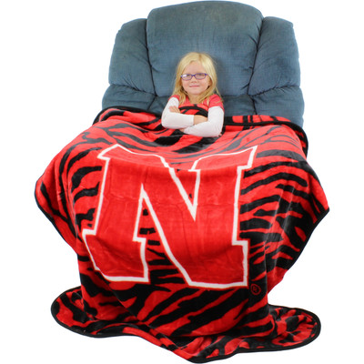 Nebraska Huskers Throw Blanket