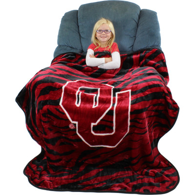 Oklahoma Sooners Throw Blanket