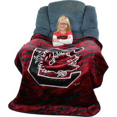 South Carolina Gamecocks Throw Blanket