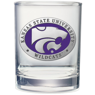 Kansas State Wildcats Cocktail Glasses | Heritage Pewter| DOF10242EP
