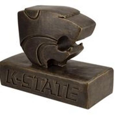 Kansas State Wildcats Bronze Mascot Garden Statue | Stonecasters | 2963BR