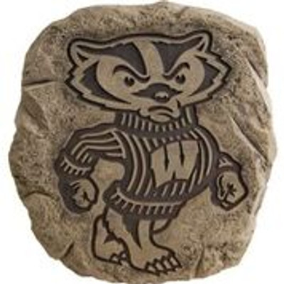 Wisconsin Badgers  Logo Stepping Stone | Stonecasters | STC27860